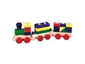 Melissa & Doug Classic Wooden Stacking Train