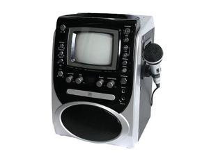 Singing Machine CDG Karaoke System with 5.5 inch Monitor - Silver