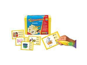 Educational Insights SET 3: Vowels Hot Dots Phonics Flash Cards