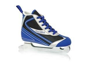 Roller Derby Starglide Boys Double Runner Figure Ice Skates - Youth Size 12