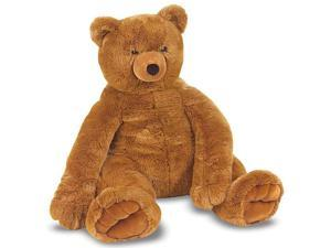 Melissa & Doug Deluxe Jumbo Brown Teddy Bear