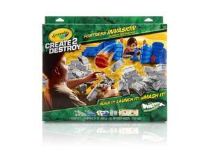 Crayola Create 2 Destroy Fortress Invasion Ultimate Destruction