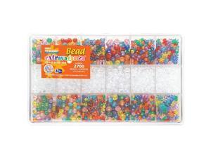 Giant Bead Box Kit 2700 Beads/Pack - Multi Color