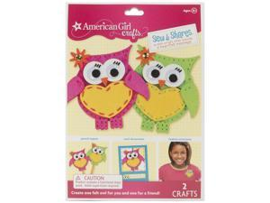 American Girl Sew And Shares Kit-Owls