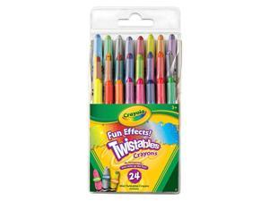 Crayola Fun Effects Twistables Crayons