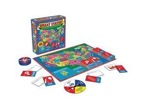 Great States Board Game - Revised Edition