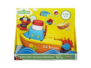 Sesame Street Elmo Bath Adventure Steamboat
