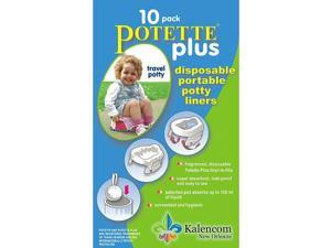 Potette Plus 2-in-1 On-The-Go Travel Potty & Trainer Seat - Green