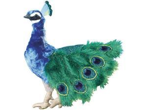 Folkmanis Peacock Hand Puppet