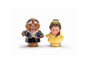Fisher-Price Little People Disney Princess Figures 2-Pack - Belle and Beast