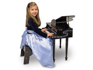 Melissa & Doug Deluxe Wooden Grand Piano