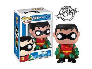 Pop! DC Heroes Batman Bobble Head Vinyl Action Figure- Robin