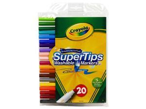 Crayola 20 pack Supertip Markers