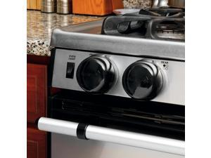 Safety 1st Decor Stainless Steel Stove Knob Covers 5 Pack
