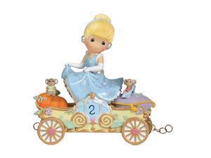 Precious Moments Disney Parade Cinde - Bibbidi, Bobbidi, Boo- Now You're Two