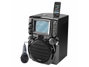 Portable Karaoke System with 5 inch Monitor