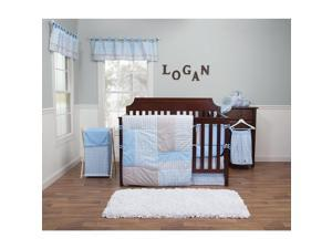 Trend Lab Logan 3-Piece Crib Bedding Set
