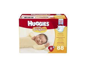 Huggies Little Snugglers Newborn Diapers - 88 Count