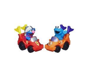 Sesame Street 2-Pack Vehicles - Super Grover and Cookie Monster