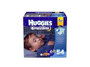 Huggies Overnites Size 6 Diapers - 54 Count