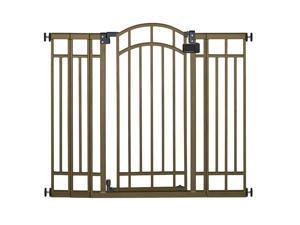 Summer Infant Multi-Use Deco Extra Tall Walk-Thru Gate - Bronze