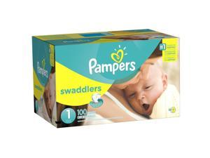 Pampers Swaddlers Size 1 Diapers Super Pack - 100 Count