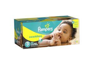 Pampers Swaddlers Size 3 Diapers Super Pack - 88 Count