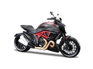 Maisto 1:12 Special Edition Motorcycle - Ducati Diavel Carbon - Black & Red