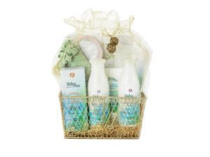BabySpa Stage 1 Mommy & Me Gift Set Fresh Baby Scent for Newborns Through