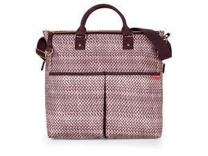 Duo Special Edition Diaper Bag - Plum Sketch