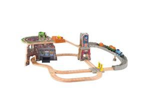 Thomas & Friends Wooden Rai - Thomas' Fossil Run Train Set Tale of the Brave