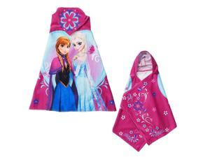 Disney Frozen Hooded Towel - Anna and Elsa