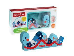 Fisher-Price Wood My First Counting Worm