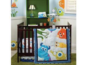 Disney Baby Monsters, Inc 4 Piece Crib Bedding Set