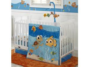 Disney Pixar Finding Nemo 4 Piece Crib Bedding Set