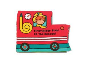 Melissa & Doug K's Kids Firefighter Soft Activity Book - Fred to the Rescue