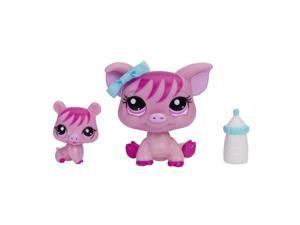 Littlest Pet Shop Pet and Friend - Pig and Baby Pig