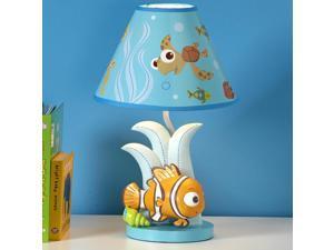 Disney Baby - Finding Nemo - Lamp & Base - Nemo Shaped Lamp.