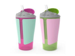 Born Free 10-Ounce Straw Cup 2 Pack - Girl