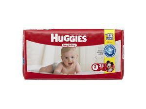 Huggies Snug and Dry Size 2 Baby Diapers - 38 Count