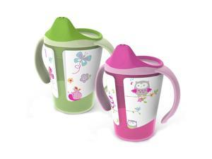 Born Free 6-Ounce Training Cup 2 Pack - Girls