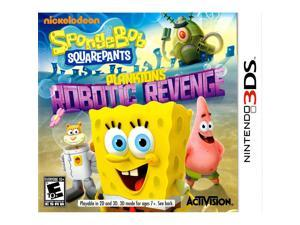 Pre Owned SpongeBob SquarePants: Plankton's Robotic Revenge for Nintendo 3DS
