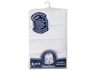 Gerber Pre-Folded Cloth Diapers - 4 Pack