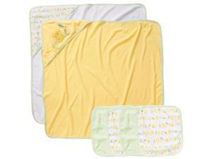 Koala Baby Neutral Yellow Duck 2 Pack Towel and 4 Pack Washcloth Set