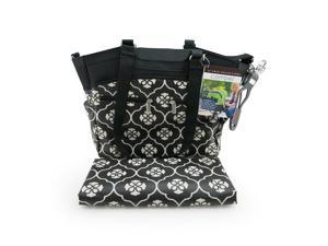 JJ Cole Camber Bag - Black Floret