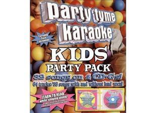 Party Tyme Karaoke - Kids Party Pack - 32 Songs