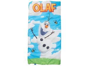 Disney Frozen Slumber Bag with Backpack - Olaf - Blue