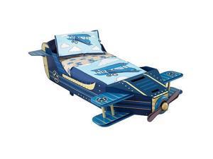 KidKraft Airplane Toddler Bedding 4 Piece Set