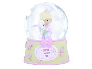 Precious Moments 'Jesus Loves Me' 100mm Musical water globe