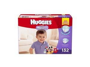Huggies Little Movers Diapers Step 5, 132 Count